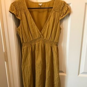 Adorable yellow Fossil dress